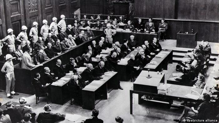Le procès s'est tenu en Allemagne, mais devant un tribunal international
