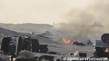 Westsahara Karkarat | Marokkanisches Militär | Laster umgekippt