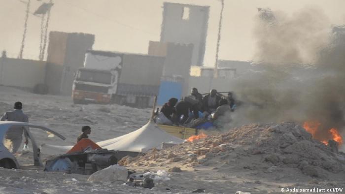 Westsahara Karkarat | Marokkanisches Militär | Pufferzone