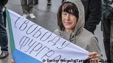 Russland Chabarowsk | Solidarität mit Sergej Furgal, ehemaliger Gouverneur