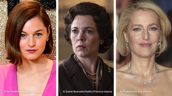The Crown Season Four, featuring Emma Corrin, Olivia Colman und Gillian Anderson