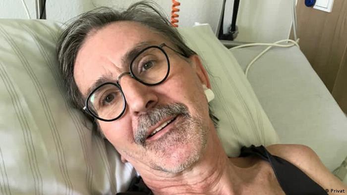 Peter Schmidgen la spital