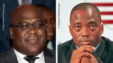 Bildkombo I Felix Tshisekedi und Joseph Kabila