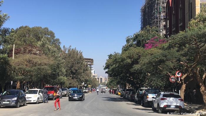 Mekelle, die Hauptstadt der Region Tigray (Foto: Million Haileselassie/DW)
