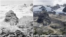 Italien | Marmolada Glacier | 1880 und 2020