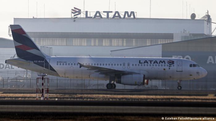 Coronavirus Chile I Insolvenz von Latam Airlines