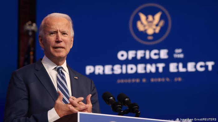 Wilmington Joe Biden President elect Rede Obamacare