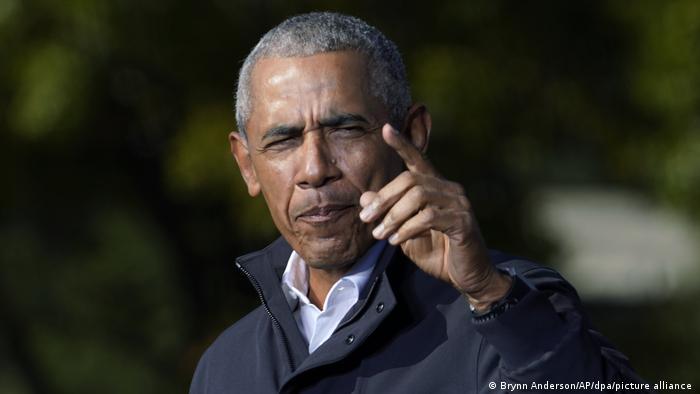 Barack Obama Wahlkampfkundgebung 2020