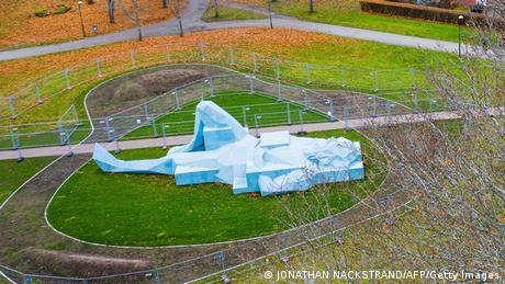 BdTD Schweden Varberg | Riesen-Skulptur von Xavier Veilhan (JONATHAN NACKSTRAND/AFP/Getty Images)