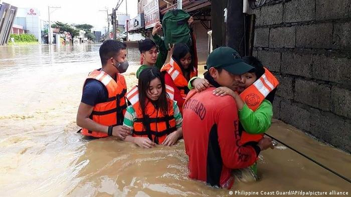 Philippinen Überschwemmungen nach Typhoon Vamco