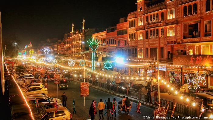 Indien | Diwali Festival (Vishal Bhatnagar/NurPhoto/picture alliance )