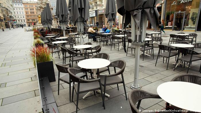 Закрытый ресторан в Австрии