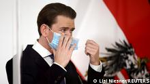 Österreich: Sebastian Kurz gibt PK in Wien