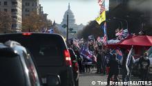 USA I Protest von Trump Unterstützern