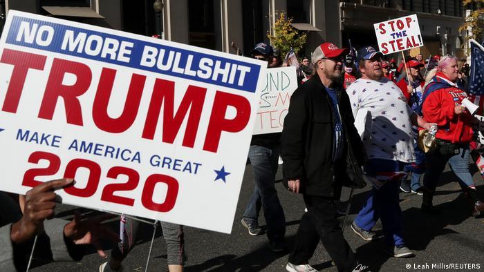 Protesti Trampovih pristalica u Vašingtonu