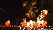 Armenien | Erevan | Erinnerung an die Opfer des Krieges in Berg Karabach