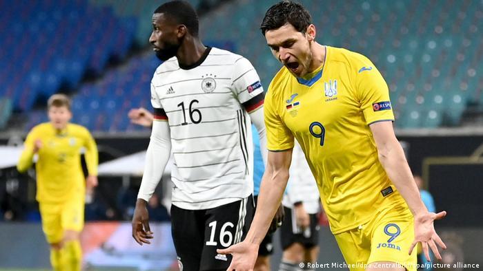 UEFA Nations League - Germany v Ukraine | Tor: 0- 1 | Jubel