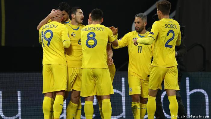 Збірна України під час виїзного матчу проти збірної Німеччини, 14 листопада 2020 року