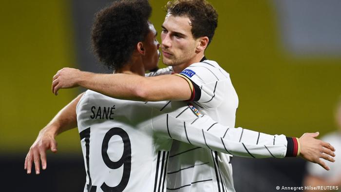 UEFA Nations League - Germany v Ukraine | Tor: 1 - 1 | Leroy Sane