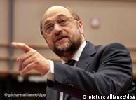 O επικεφαλής της Σοσιαλιστικής Ομάδας του ευρωκοινοβουλίου Μάρτιν Σουλτς
