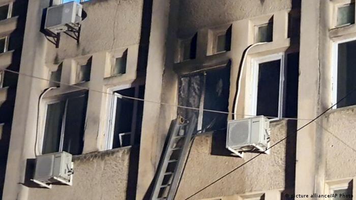 Rumänien Krankenhausbrand