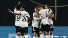 UEFA Nations League - Germany v Ukraine | Tor: 2 - 1 | Jubel