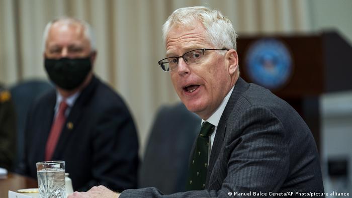 USA Washington | Christopher Miller, kommissarischer Verteidigungsminister (Manuel Balce Ceneta/AP Photo/picture alliance)