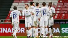 UEFA Nations League | Portugal vs. Frankreich |Jubel Frankreich