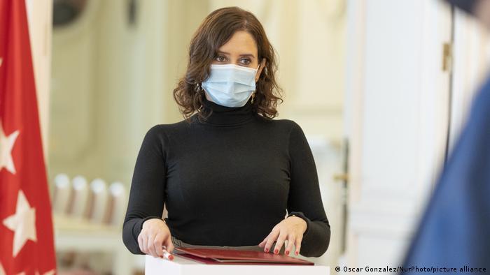Isabel Díaz Ayuso, presidenta de la Comunidad de Madrid, en una imagen reciente.