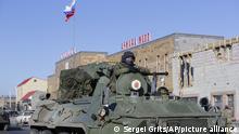 Berg-Karabach | Russische Friedenstruppen sichern Waffenstillstand