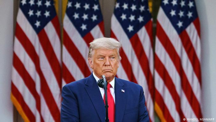 Washington Präsident Trump | PK Impfstrategie (MANDEL NGAN/AFP)