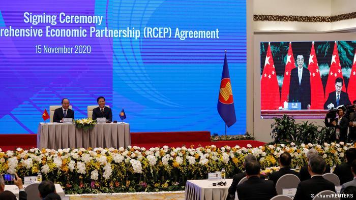 Vietnam Hanoi | Abschluss virtueller ASEAN-Gipfel | Freihandelsabkommen