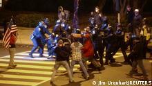 USA Washington | Auseinandersetzungen während Protesten von Trump Unterstützern