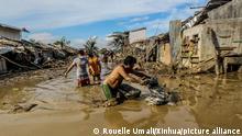 Philippinen - Schäden durch Taifun Vamco