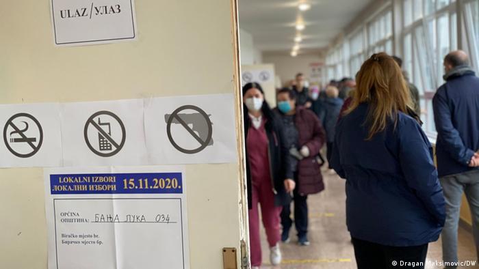 Kommunalwahl in Bosnien und Herzegowina (Dragan Maksimovic/DW)