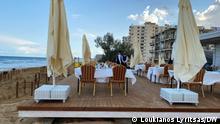 Zypern Strand von Varosia | vor Besuch Präsident Erdogan