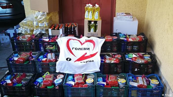 Хранителни продукти за нуждаещи се в община Гулянци