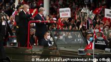 Zypern I Staatsbesuch von Präsident Recep Tayyip Erdoğan