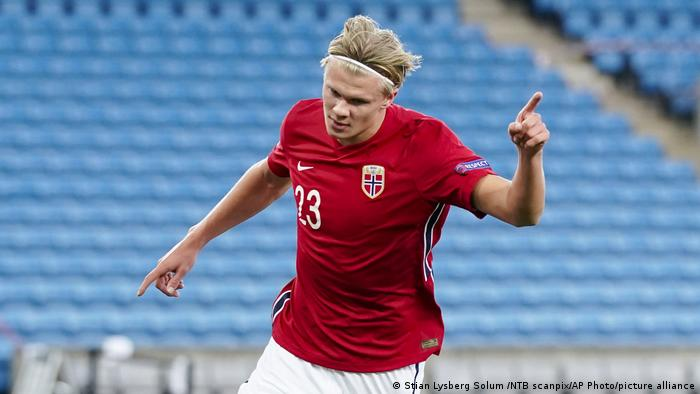 Norway's Erling Braut Haaland