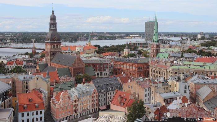 Old town center of Riga, Latvia (Nicole Meißner/DW)