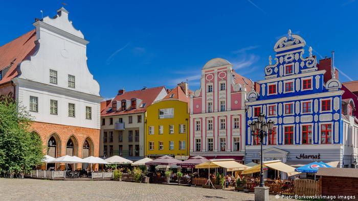 The Polish city of Szczecin