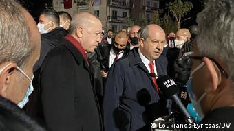 Ερντογάν και Τατάρ στα Βαρώσια, 2020