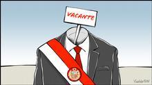 Karikatur von Vladdo - Zweifel in Peru