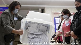 Подсчет голосов на выборах президента Республики Молдова