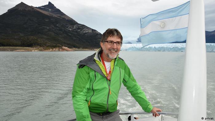 Peter Schmitdgen en Argentina.