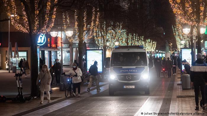 Hannover | Coronavirus Polizei Kontaktverbot