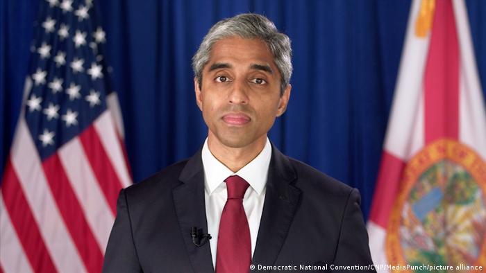Vivek Murthy, einer der Berater von Biden in Sachen Corona-Bekämpfung (Foto: Democratic National Convention/CNP/MediaPunch/picture alliance)
