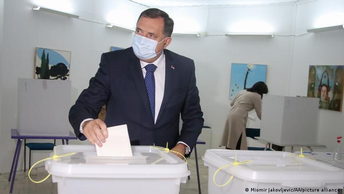 Milorad Dodik na izborima u BiH