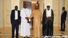 Tschad Präsident Idriss Déby Itno, Bischof Edmond Djitangar