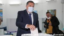 Bosnien und Herzegowina Kommunalwahlen November 2020 Milorad Dodik